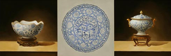 Blue Vessels I