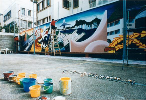 Future of Hong Kong Mural