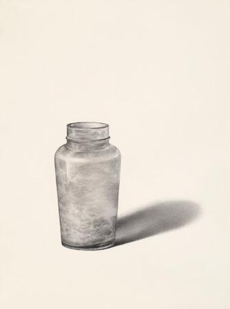 Bottiglia Smerigliata