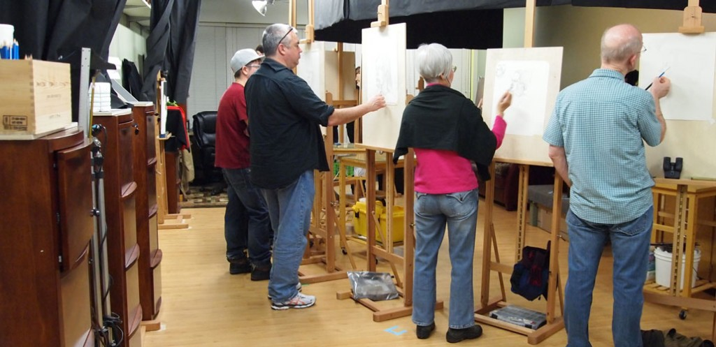 Classical Drawing Atelier with Mandy Boursicot