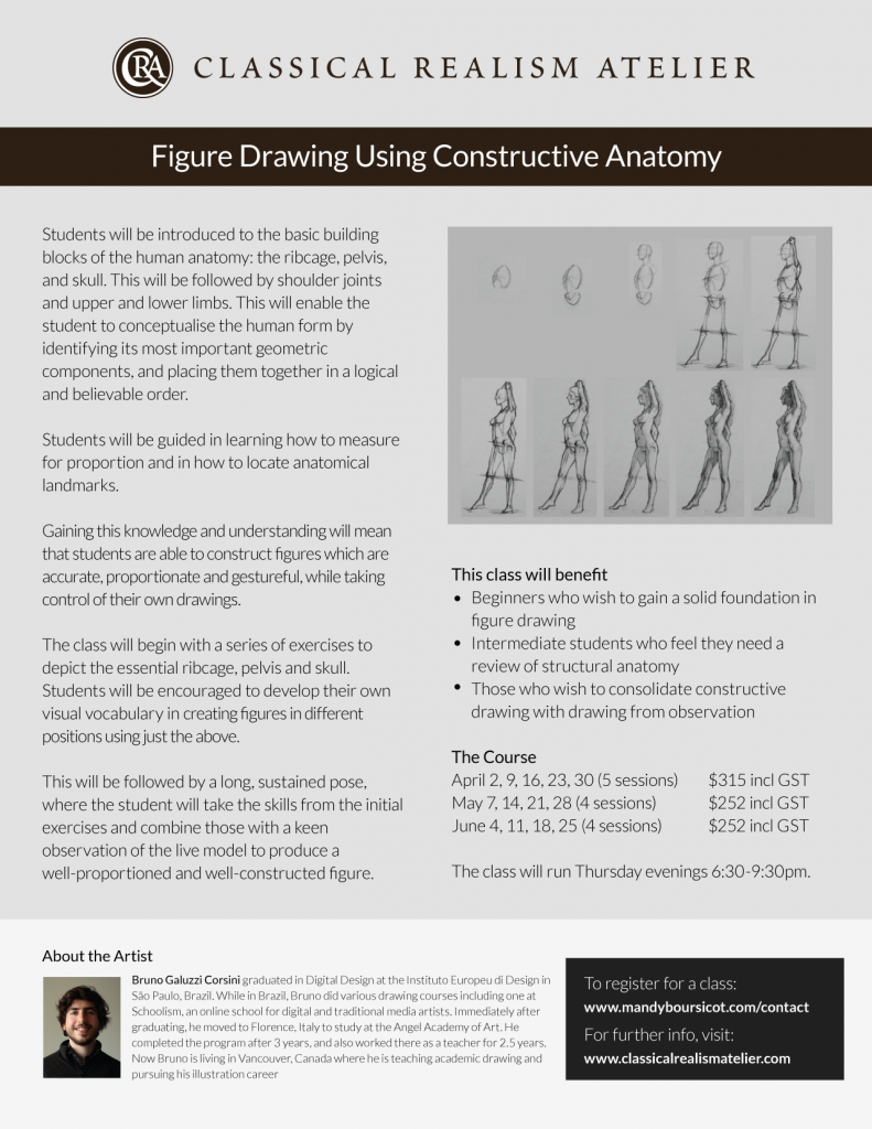 Figure Drawing Using Constructive Anatomy